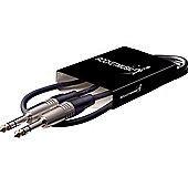 Rocket Deluxe Jack-Jack Balanced Instrument Cable - 1m