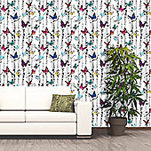 Muriva Emperor's Garden Wallpaper