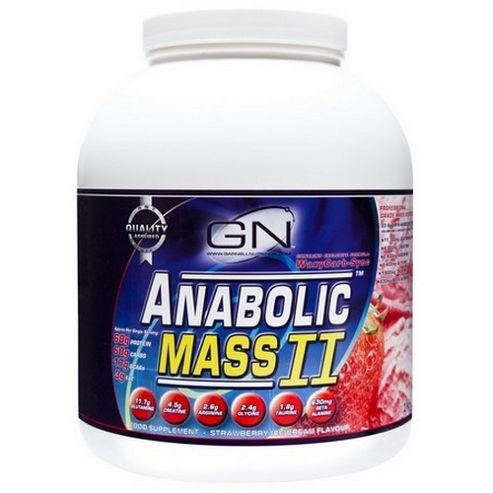 Anabolic Mass II Banana 2kg Powder