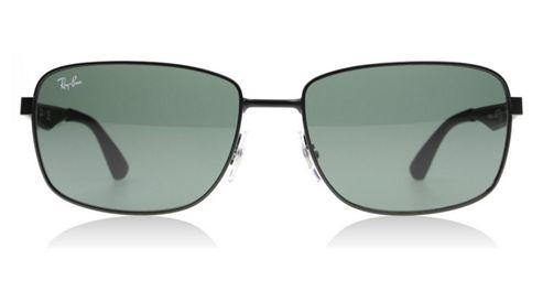 Buy Ray-Ban Sunglasses 3529 006/71 Matte Black Rectangle ...