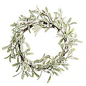 Mistletoe Christmas Door Wreath