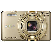 Nikon Coolpix S7000 Superzoom Digital Camera,  GOLD