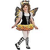 Child Monarch Butterfly Costume Medium