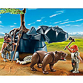 Playmobil Bear with Cavemen
