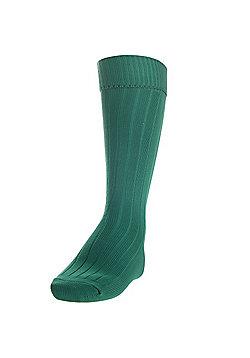 Precision Training Plain Football Socks - Bottle green