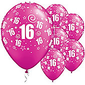 11' 16th Swirl Around Pearl Magenta (25pk)
