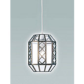 Endon Lighting Small Pendant in Antique