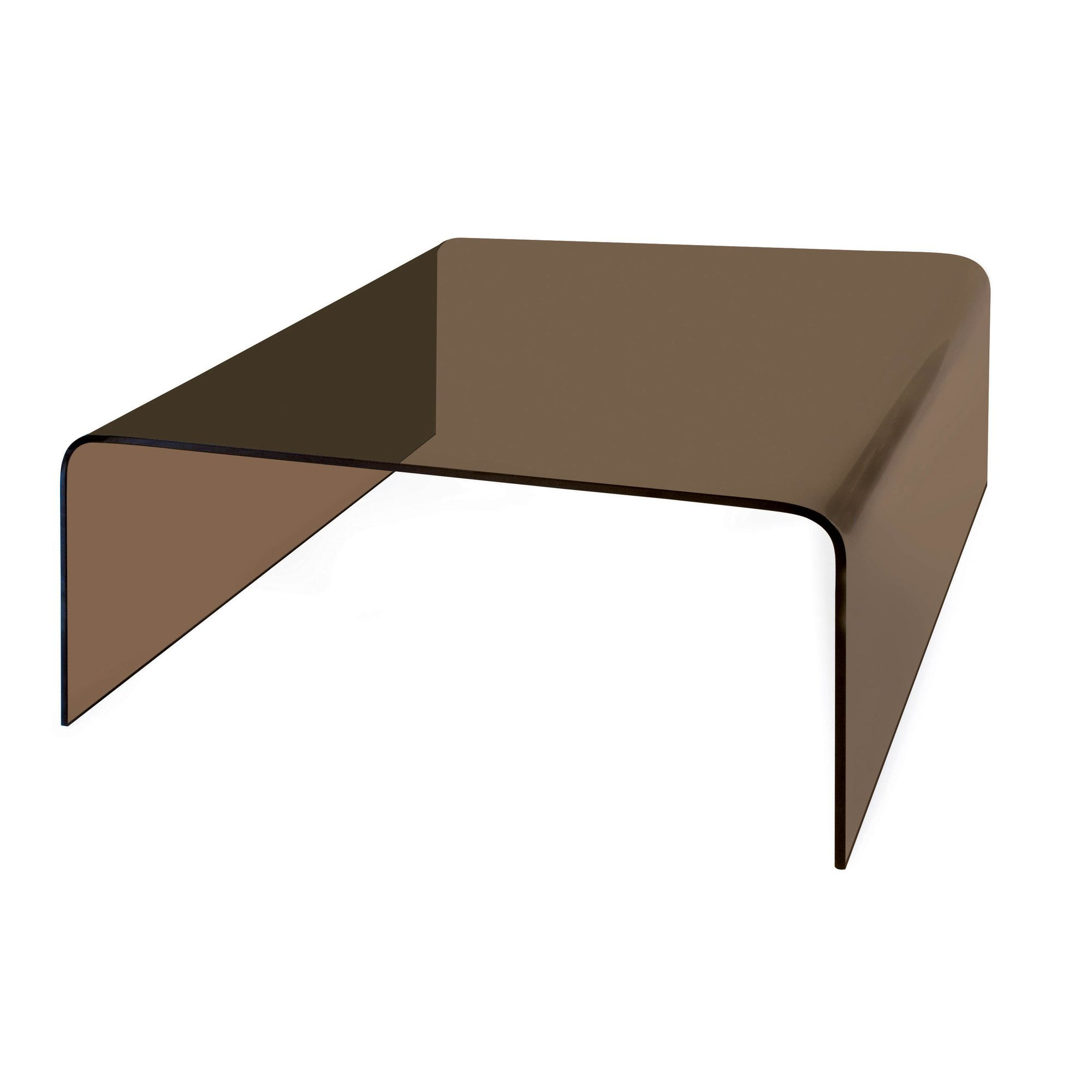 Premier Housewares Cascade Square Coffee Table - Smoked at Tescos Direct