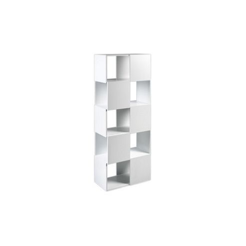 Tema Home Merlon High Bookcase - Pure White