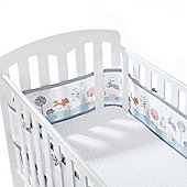 BreathableBaby 4 Sided Mesh Cot Liner Enchanted Forest