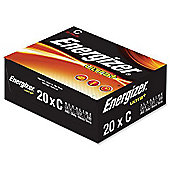 Energizer UltraPlus Batteries C Bulk Pack