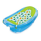 Summer Infant Sparkle and Splash Newborn to Toddler Bath Tub (Blue)