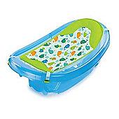 Summer Infant Sparkle and Splash Newborn to Toddler Bath Tub (Blue)