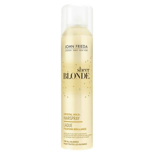 John Frieda Sheer Blonde Crystal Hold Hairspray 250ml