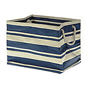 Wicker Valley Tobs Soft Storage New England Rectangular Bag in Blue