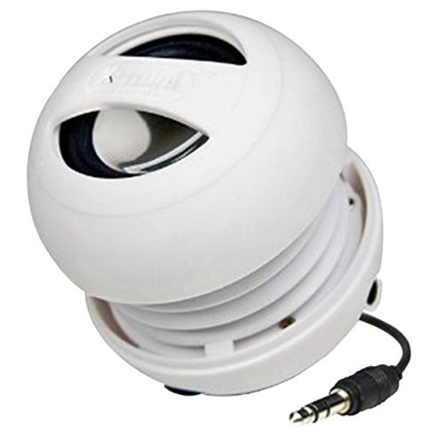 X-Mini II Portable Capsule Speaker, White