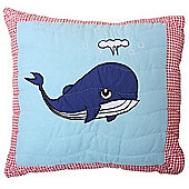 Undersea Whale Cushion