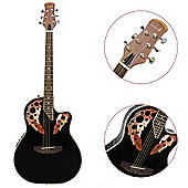 Rocket Shallow Cutaway Electro Acoustic - Black