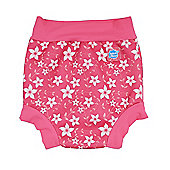 Splash About Happy Nappy - Pink Blossom - Pink