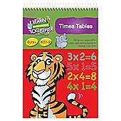 Tesco Learn Together Times Tables A5 Flash Pad