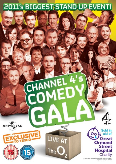 Channel 4'S Comedy Gala - Tesco Exclusive (DVD)