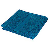 Tesco 100% Combed Cotton Face Cloth Teal