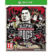 Sleeping Dogs Definitive Edition: Day 1 Edition (Xbox One)