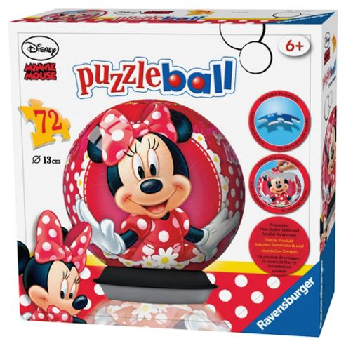 Ravensburger Minnie Mouse 3D Puzzle 72  Piece Puzzle