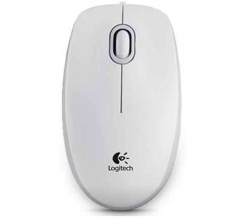 Logitech M100 Optical Mouse - White