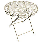 Fallen Fruits Old Rectory Round Table - Off White