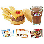 Yummy Nummies Hamburger And Fries Meal Set