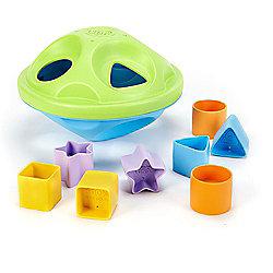 Green Toys SPSA-1036 My First Shape Sorter