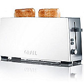 Graef Extra Lift 2 Slice Toaster - White