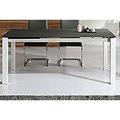 Wilkinson Furniture Mobo Extending Table - Black - Medium