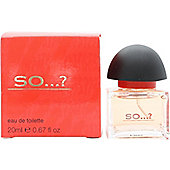 So...? Eau de Toilette (EDT) 20ml Spray For Women