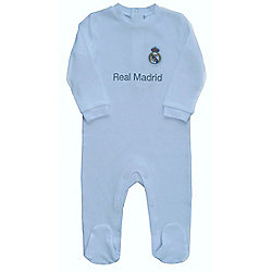 Real Madrid Baby Kit Sleepsuit - 2015/16 Season