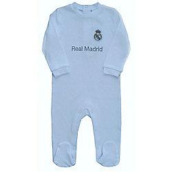 Real Madrid Baby Kit Sleepsuit - 2015/16 Season