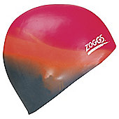 Zoggs Silicone Multicoloured Cap