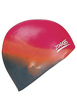 Zoggs Silicone Multicoloured Cap