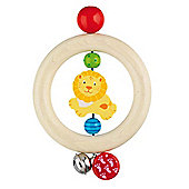 Heimess 735910 Wooden Ring Rattle (Safari)
