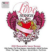 250 Hits Love Songs 10 CD Box