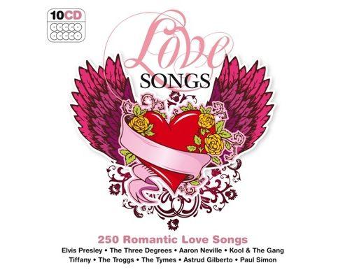 250 Hits Love Songs 10 Cd Box