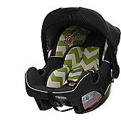 OBaby Chase Group 0+ Infant Car Seat (ZigZag Lime)