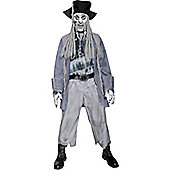 Zombie Ghost Pirate - Adult costume Size: 42-44