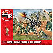 Airfix 1:72 Scale WWII Australian Infantry Model Kit