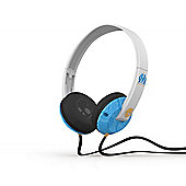 Uprock 2.0 On Ear Headphones with Mic Olympique Marseille White/Blue