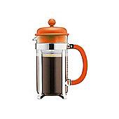 Bodum 3 Cup, 0.35L Cafetiere, Coffee Maker, Orange