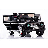 Kids Electric Car Mercedes Benz G55 12 Volt Black Gloss