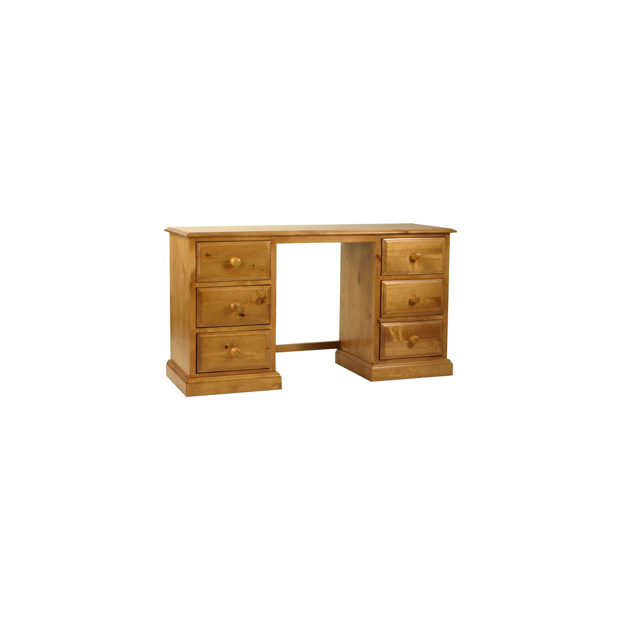 Kelburn Furniture Pine Double Dressing Table at Tesco Direct