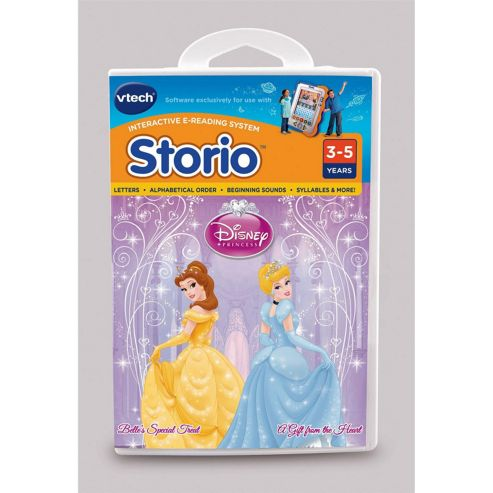 Storio Vtech Animated Reading System Disney Princess